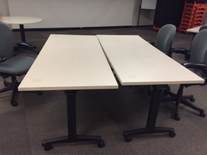 Herman Miller 30x72 tables (2)